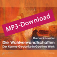 Die Wahlverwandtschaften, Audio-MP3-Download