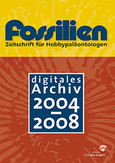 Fossilien: Digitales Archiv 2004-2008, CD-ROM